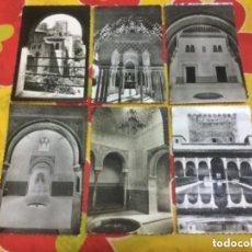 Postales: LOTE DE 6 POSTALES DE LA ALHAMBRA DE GRANADA. Lote 135347174