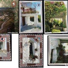 Postales: LOTE DE 7 POSTALES ALPUJARRA DE GRANADA. Lote 135474758