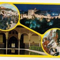 Postales: GRANADA - ALHAMBRA - SERIE 45 - Nº926 A.ZERKOWITZ. Lote 135606358