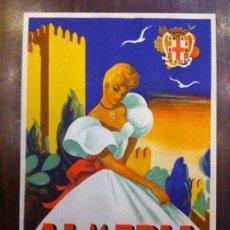 Postales: ALMERÍA 1955. FIESTAS EN HONOR SANTÍSIMA VIRGEN DEL MAR. POSTAL.. Lote 135639215
