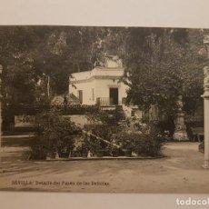 Postales: SEVILLA PASEO DE LAS DELICIAS. Lote 135800322
