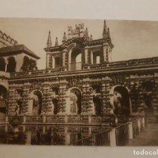 Postales: SEVILLA FUENTE DEL REY DON PEDRO ALCAZARES . Lote 135800594