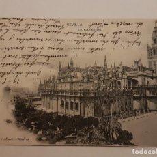 Postales: SEVILLA LA CATEDRAL (HAUSER Y MENET MADRID). Lote 135801742