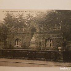 Postales: SEVILLA FUENTE VIRGEN DE LOS REYES . Lote 135802790