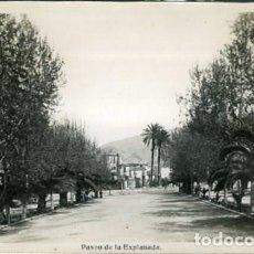 Postales: MOTRIL (GRANADA). PASEO DE LA EXPLANADA. EDICIONES ARRIBAS Nº 4. FOTOGRÁFICA. . Lote 135848050