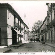 Postales: MOTRIL (GRANADA). CALLE DE SEIJAZ LOZANO. EDICIONES ARRIBAS Nº 9. FOTOGRÁFICA. Lote 135848822