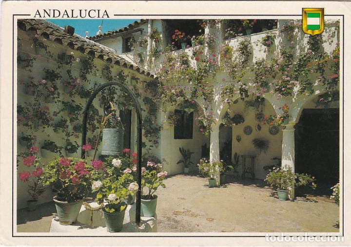 Andalucia Tipio Patio Andaluz Buy Postcards From Andalusia At
