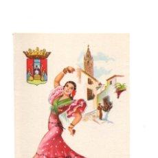 Postales: POSTAL EDICIONES F. MOLINA .- ILUSTRA ELSI GUMIER.- SEVILLA. Lote 136753394