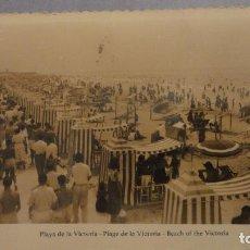 Postales: ANTIGUA POSTAL.PLAYA DE LA VICTORIA.CADIZ.AISA Nº 259. Lote 137765970