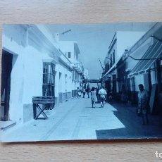 Postales: POSTAL CHIPIONA CALLE ISAAC PERAL 1963 CIRCULADA. Lote 137774722