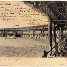 Postales: PRECIOSA POSTAL - HUELVA - RIO TINTO CO. LD. - MUELLE DE HIERRO . Lote 138068118