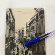 Postales: POSTAL SEVILLA. CALLE DE SIERPES.. Lote 138536114