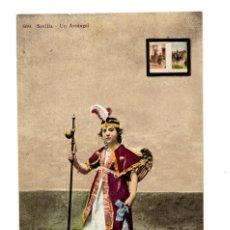 Postales: SEVILLA.- UN ARCANGEL. EDITOR MANUEL BARREIRO. Lote 138710430