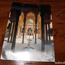 Postales: GRANADA ALHAMBRA PATIO DE LOS LEONES. Lote 138752890