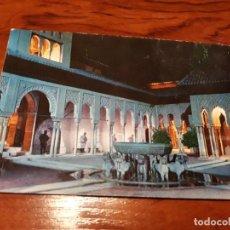 Postales: GRANADA ALHAMBRA ILUMINADA PATIO DE LOS LEONES . ZERKOWITZ. Lote 138753098