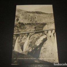 Postkarten - SIERRA NEVADA GRANADA TRANVIA PUENTE DEL BLANQUILLO FERROCARRIL POSTAL FOTOGRAFICA - 138821962