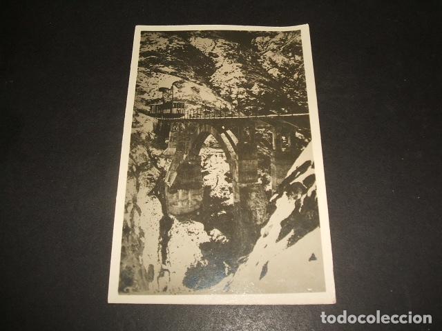 SIERRA NEVADA GRANADA TRANVIA FERROCARRIL POSTAL FOTOGRAFICA AÑOS 20 (Postales - España - Andalucía Antigua (hasta 1939))