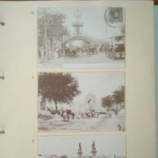 Postales: HOJA DE 3 POSTALES DE SEVILLA ANTIGUAS,COLECCION DIARIO 16-FORTUNA.N 10,11 Y 12..VER FOTOS.. Lote 139178256