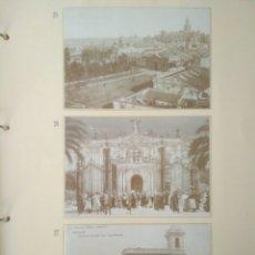 Postales: HOJA DE 3 POSTALES DE SEVILLA ANTIGUAS,COLECCION DIARIO 16-FORTUNA.N 25,26 Y 27.VER FOTOS.. Lote 139178658