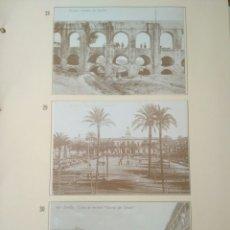 Postales: HOJA DE 3 POSTALES DE SEVILLA ANTIGUAS,COLECCION DIARIO 16-FORTUNA.N 28,29 Y 30..VER FOTOS.. Lote 139178826