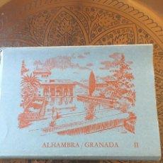 Postales: LIBRO POSTAL ALHAMBRA GRANADA 10 POSTALES. Lote 139186277