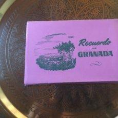 Postales: FOTO LIBRO RECUERDO DE GRANADA 10 POSTALES. Lote 139186836
