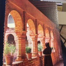 Postales: POSTAL MONASTERIO DE LA TAÑIDA HUELVA. Lote 139200784