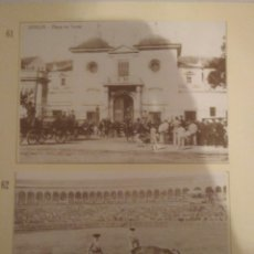 Postales: HOJA DE 3 POSTALES DE SEVILLA ANTIGUAS,COLECCION DIARIO 16-FORTUNA.N 61,62 Y 63.VER FOTOS.. Lote 139263280