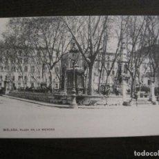 Postales: MALAGA - PLAZA DE LA MERCED -POSTAL ANTIGUA-(54.048). Lote 139353566