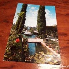 Postales: GRANADA JARDINES DEL GENERALIFE. Lote 139420118