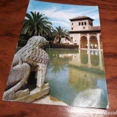 Postales: GRANADA DETALLE DE LA TORRE DE LAS DAMAS ZERKOWITZ. Lote 139420314