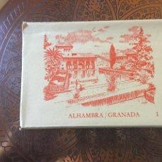 Postales: LIBRO POSTAL ALHAMBRA GRANADA 10 POSTALES LIBRO 2. Lote 139186638