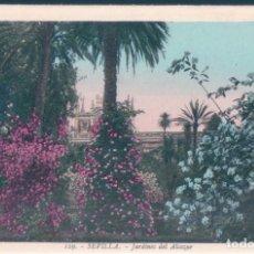 Postales: POSTAL SEVILLA - JARDINES DEL ALCAZAR - ROISIN 129. Lote 139899198