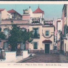 Postales: POSTAL SEVILLA - PLAZA DE DOÑA ELVIRA - BARRIO DE SANTA CRUZ - ROISIN 131. Lote 139939258