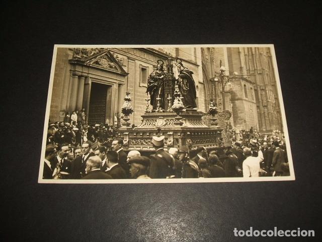 SEVILLA PROCESION DE SANTA JUSTA Y SANTA RUFINA POSTAL FOTOGRAFICA AÑOS 20 SANCHEZ DEL PANDO FOTOGRA (Postales - España - Andalucía Antigua (hasta 1939))