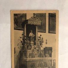 Postales: JIMENA DE LA FRONTERA (CÁDIZ) POSTAL. ALTAR DEL S. C. DE JESÚS DEL SANTUARIO DE LA REINA... (H.1920?. Lote 140452702