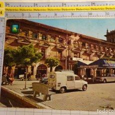 Postales: POSTAL DE CÓRDOBA. AÑO 1967. MONTILLA, EDIFICIO LA TERCIA. FURGONETA SEAT 600. 1310. Lote 140523462