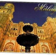 Postales: 1171 MALAGA CATEDRAL VISTA NOCTURNA - NO CIRCULADA -. Lote 140632410