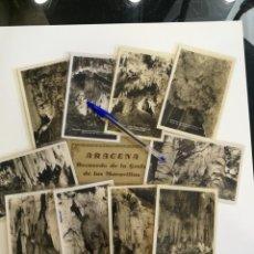 Postales: COLECCION POSTALES DE ARACENA RECUERDO DE LA GRUTA DE LAS MARAVILLAS. Lote 140711082