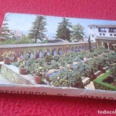 Postales: BLOC ACORDEÓN TACO TIRA DE IMÁGENES FOTOS PHOTOS 24 FOTOGRAFÍAS GRANADA ANDALUCÍA LA ALHAMBRA... VER. Lote 140904806