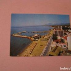 Postales: POSTAL DE MARBELLA. PLAYA Y PUERTO. ED. ARRIBAS. ESCRITA.. Lote 140936234
