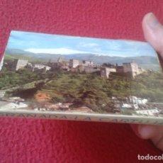 Postales: BLOC ACORDEÓN TACO TIRA DE IMÁGENES FOTOS PHOTOS FOTOGRAFÍAS GRANADA LA CARTUJA MARAVILLA ARTÍSTICA . Lote 141008086