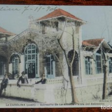 Postkarten - ANTIGUA POSTAL DE LA CAROLINA (JAEN) BALNEARIO DE LA ALISEDA, EDICION MARTINEZ PILLET, ESCRITA - 141095646