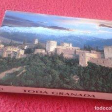 Postales: BLOC ACORDEÓN TACO TIRA DE IMÁGENES FOTOS PHOTOS FOTOGRAFÍAS TODA GRANADA LA ALHAMBRA... VER FOTO/S . Lote 141111846