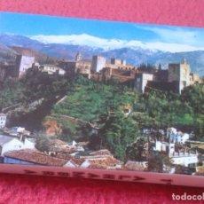 Postales: BLOC ACORDEÓN TACO TIRA DE IMÁGENES FOTOS PHOTOS FOTOGRAFÍAS GRANADA LA ALHAMBRA 1º VER FOTO/S Y DES. Lote 141173778