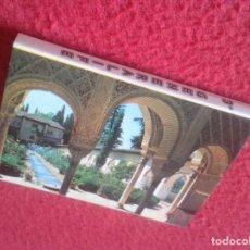 Postales: BLOC ACORDEÓN TACO TIRA DE IMÁGENES FOTOS PHOTOS FOTOGRAFÍAS GRANADA EL GENERALIFE 3º VER FOTOS Y DE. Lote 141329870