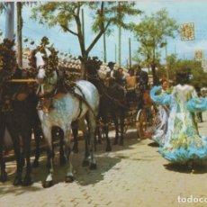 Cartoline: SEVILLA, FERIA DE ABRIL, REAL DE LA FERIA - COLECCION PERLA Nº 2497 - S/C. Lote 141519002