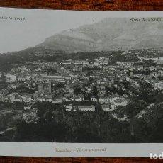 Postales: FOTO POSTAL DE CAZORLA, JAEN, VISTA GENERAL, COLECCION LA TORRE, SERIA A. NUM.1, ESCRITA EN 1914, NO. Lote 141546654