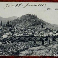 Postales: ANTIGUA POSTAL DE JAEN - VISTA PARCIAL - A. MORTOS - NO CIRCULADA - ESCRITA EN 1913.. Lote 141547166