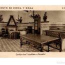 Postales: ECIJA (SEVILLA).- DEPOSITO DE RECRIA Y DOMA. CORTIJO. LAS TURQUILLAS. COMEDOR. Lote 141814526